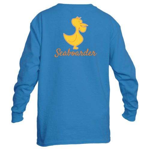 Youth Seaboarder preppy coastal long sleeve t-shirt